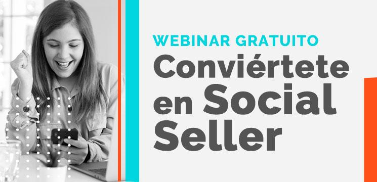 Webinar Social Selling: Conviértete en Social Seller